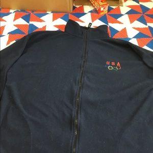 Mens zip front lightweight jacket